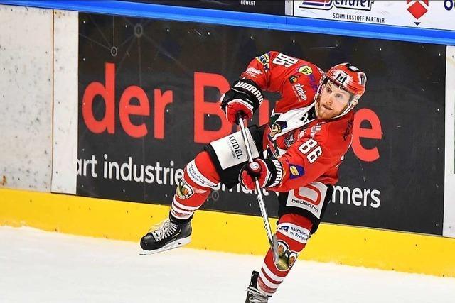 EHC Freiburg spielt am Freitag daheim gegen Dresden