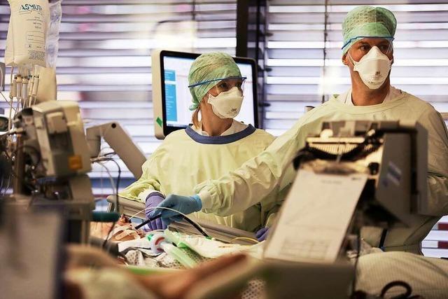 Wieder mehr Covid-19-Patienten in Freiburger Kliniken