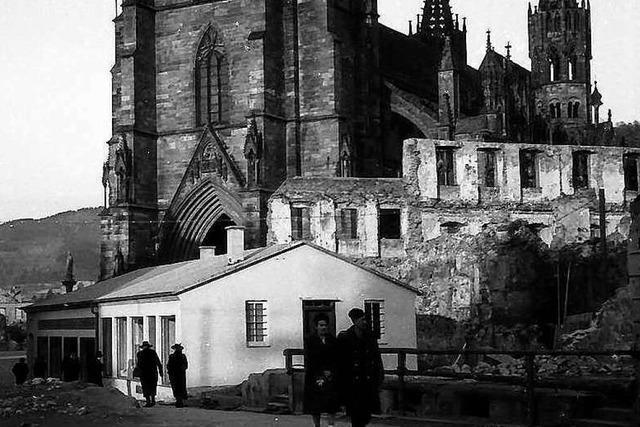 Der Bombenangriff 1944 zerstörte auch viele Freiburger Traditionsgeschäfte