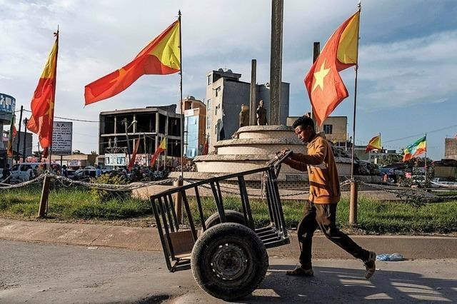 Äthiopische Armee soll Provinzhauptstadt einnehmen