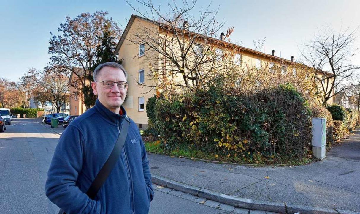 Weingartens Bürgervereinsvorsitzender ...in denen große Veränderungen anstehen.  | Foto: Michael Bamberger