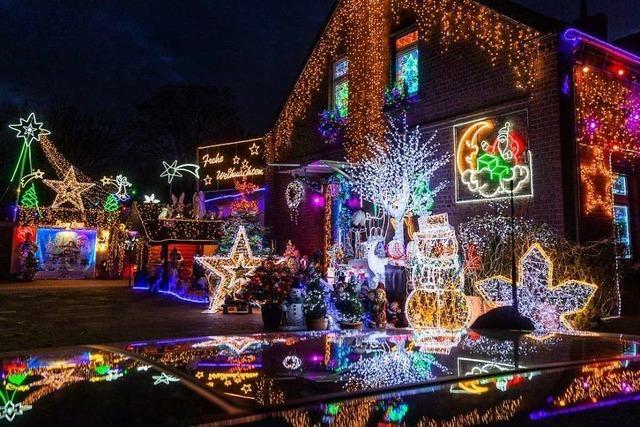 Weihnachtshäuser lassen wegen Corona die Lichter aus