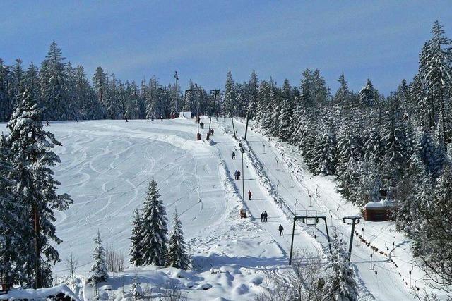 Am Kaltenbronn in Gernsbach kann man Skifahren so wie früher