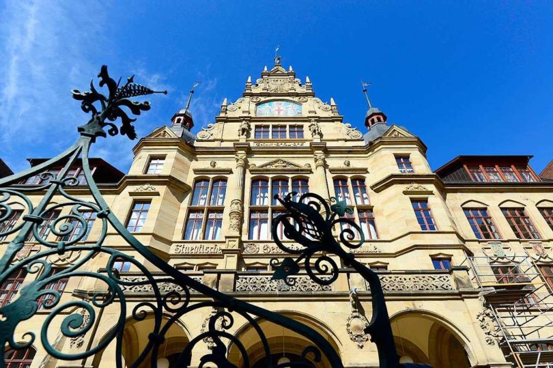 Die Gewerbeschule an der Kirchstraße i...sschulen und baulich ein Schmuckstück.  | Foto: Ingo Schneider