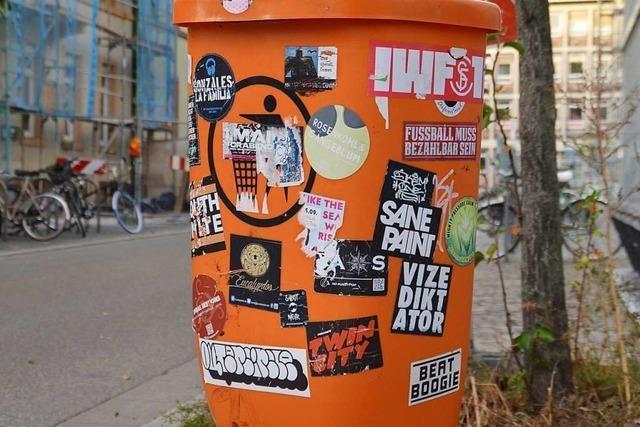 Das sind die schönsten Aufkleber Freiburgs - und ihre Geschichte