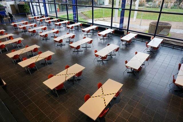 Der Freiburger Uni-Campus im Corona-Semester