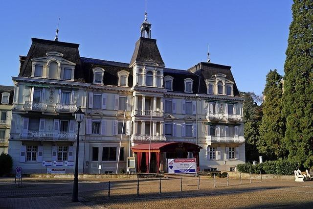 Grand Hotel Römerbad soll verkauft werden