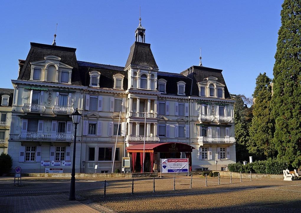 Das Hotel Römerbad in Badenweiler  | Foto: Silke Hartenstein