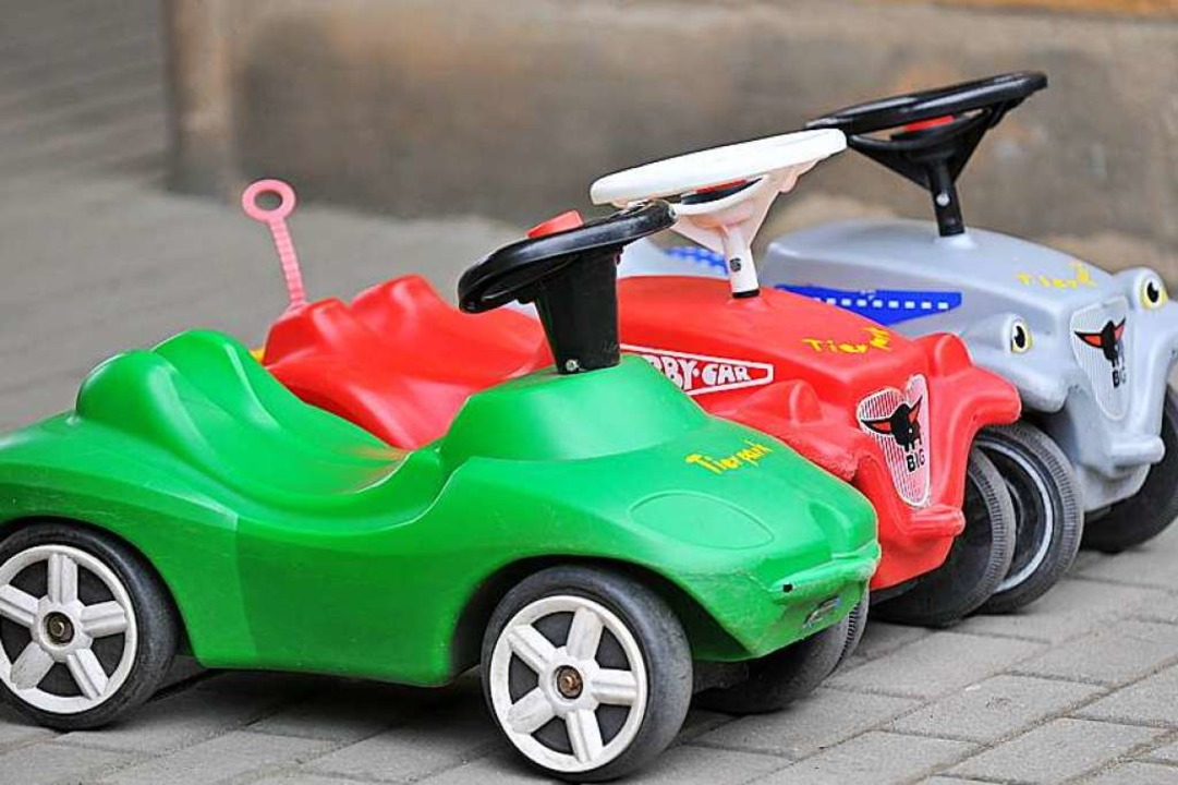 "In der Kita Umkirch fahren Kinder mit ... ""Autokino"". (Symbolbild).    Foto: Fotolia.com/jörn buchheim"
