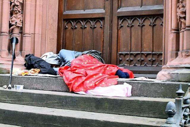 Erfrierungsschutz für Wohnungslose in Offenburg ist wieder geöffnet