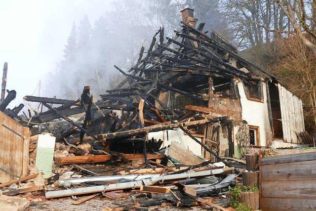 Brandursache ist weiterhin unklar