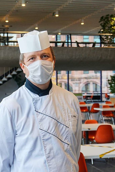 Carsten Höting sagt, wirklich effizien...offe auf einen baldigen Normalzustand.    Foto: Joshua Kocher