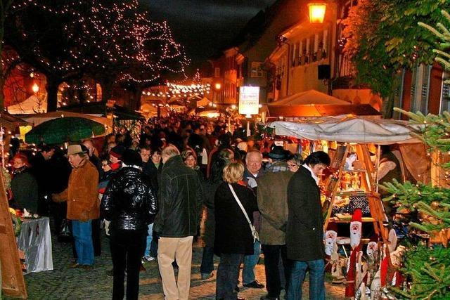 Marktbeschicker und Organisatoren vermissen Vogtsburger Weihnachtsmarkt