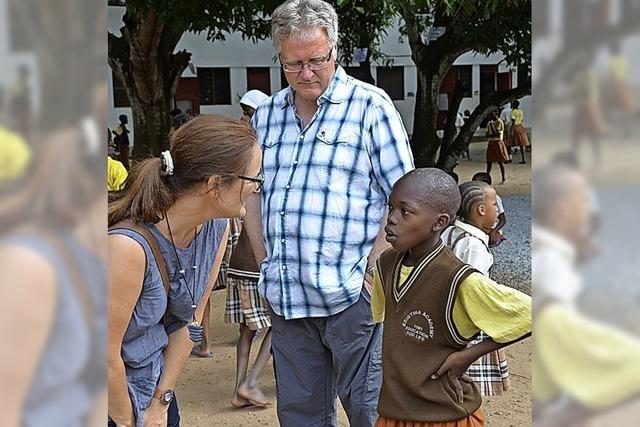 Finanzhilfe für Bildungsarbeit von Asante in Kenia