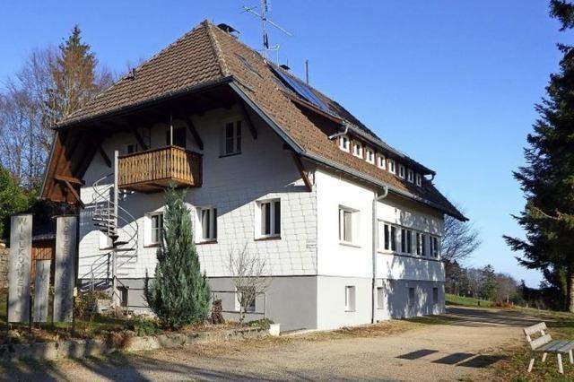 Ein Haus für Wanderer
