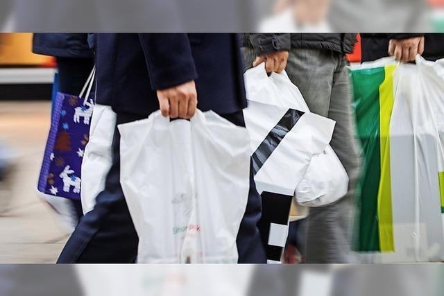 Plastiktütenverbot gilt erst ab 2022