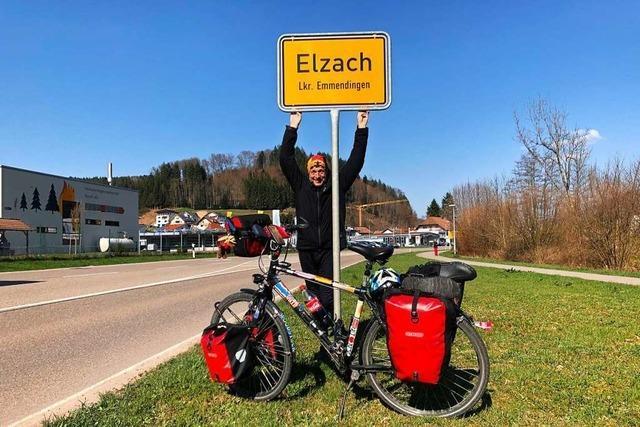 Wie ein 60-Jähriger aus Elzach mit dem Rad um die Welt fuhr
