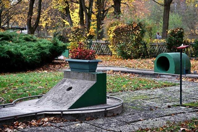 Für den Minigolfplatz in Freiburg-Landwasser wird ein neuer Pächter gesucht