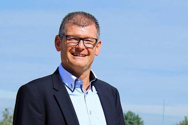 Amtierender Bürgermeister Michael Schlegel tritt nochmals an