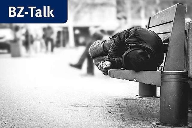 BZ-Talk: Wie lebt es sich ohne ein sicheres Zuhause?