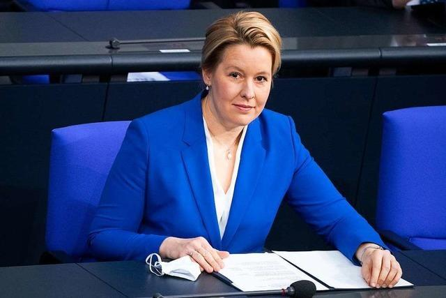Giffey kündigt Spitzenkandidatur für Berliner Abgeordnetenhauswahl an