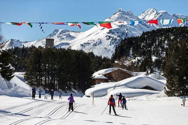 Schweizer Skiregion wirbt um Merkel: