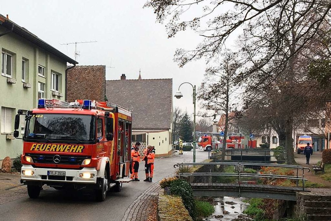 Feuerwehreinsatz in Heitersheim  | Foto: Feuerwehr Heitersheim
