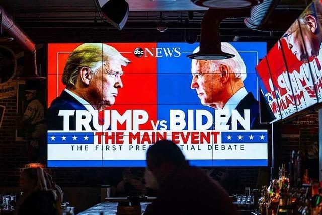 Podiumsgäste diskutieren über Lehren aus der US-Wahl