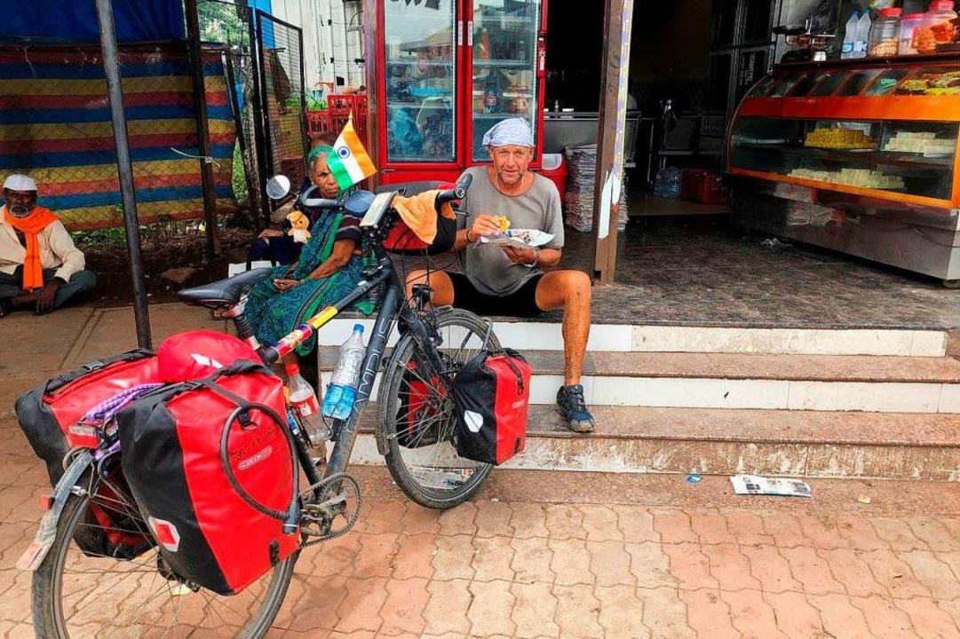 Mittagessen in Indien  | Foto: Manfred Tritschler
