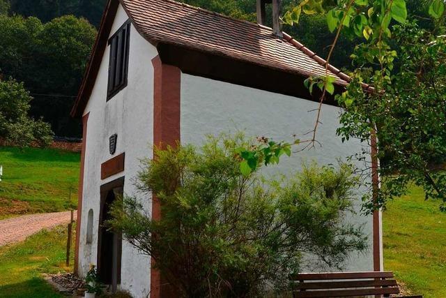 Für Elisabeth Häringer ist das Kirchlein des Waldbrunner Hofs bei Wildtal eine zweite Heimat