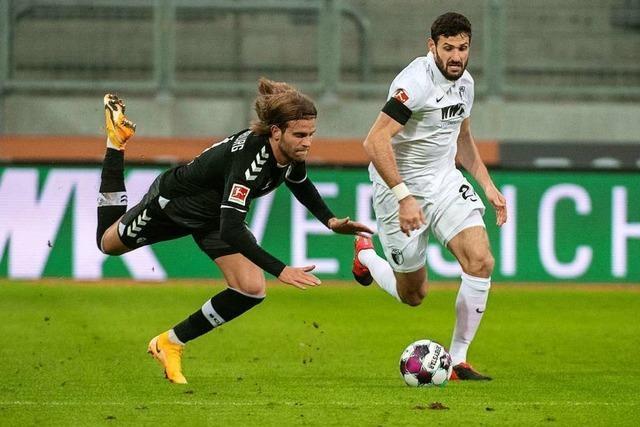 Achtes Spiel ohne Sieg: Sportclub kassiert gegen Augsburg spätes 1:1