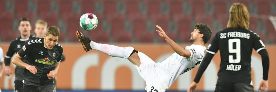 Achtes siegloses Spiel in Folge: SC Freiburg kassiert gegen Augsburg spätes 1:1
