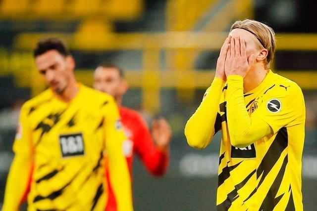 Dortmund verliert überraschend gegen Köln mit 1:2