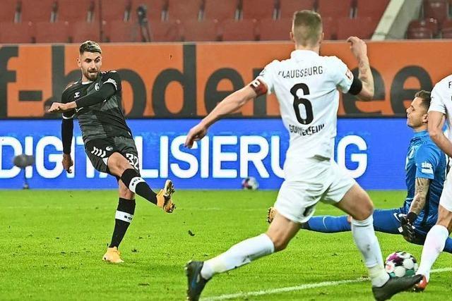 Freiburg und Augsburg trennen sich zum dritten Mal in Folge 1:1