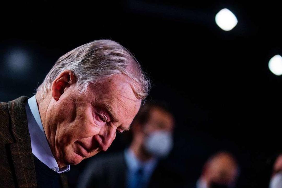 Alexander Gauland, Ehrenvorsitzender, wies Meuthens Kritik zurück  | Foto: Rolf Vennenbernd (dpa)