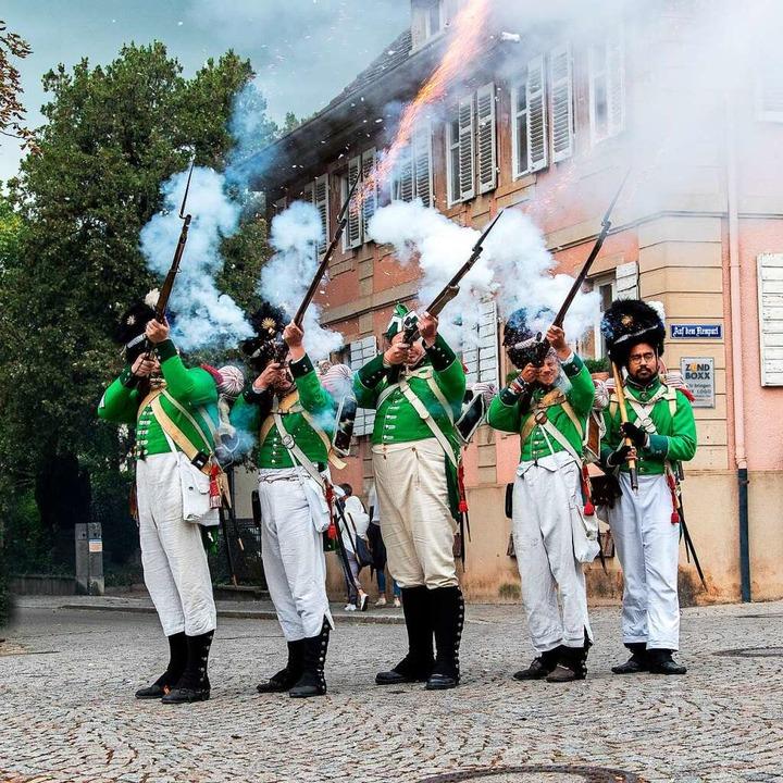 Die Badische Revolution ist – wi...1; auch heute noch vielerorts präsent.  | Foto: Dani Lehmann