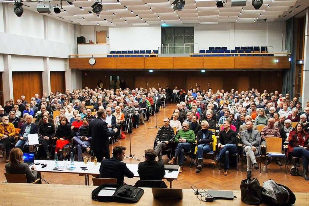Einwohnerversammlungen – so wie ...8211; sind in Corona-Zeiten undenkbar.    Foto: Markus Donner