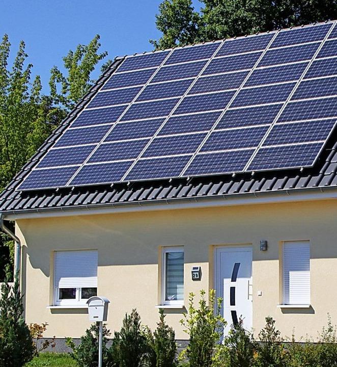 Photovoltaikanlage  | Foto: Nestor Bachmann (dpa)