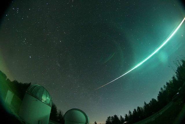 Feuerkugel über Deutschland - wohl ein Asteroidenfragment