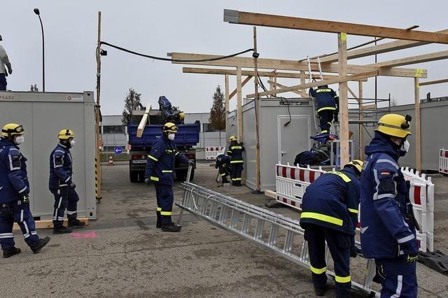 Neues Dach für die Teststation