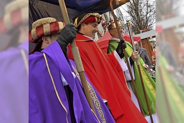 Könige klopfen politisch korrekt