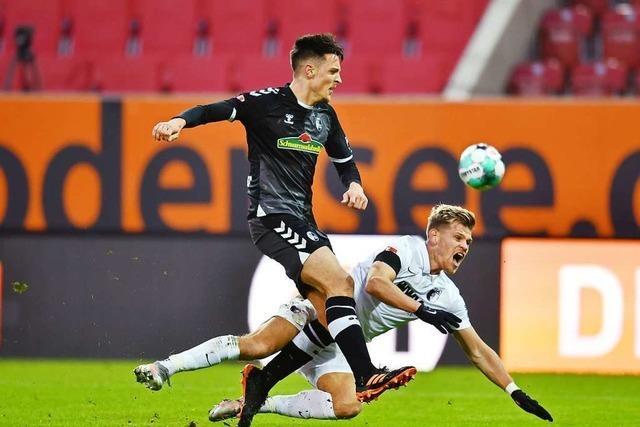 Freiburg präsentiert sich beim 1:1 in Augsburg formverbessert