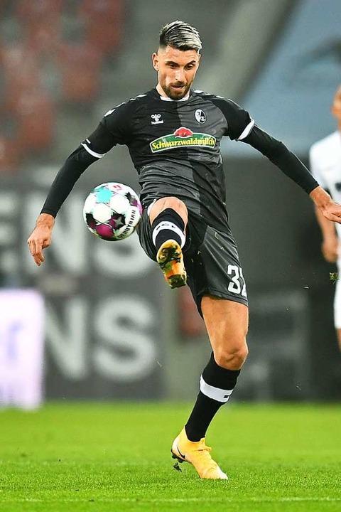Sein Führungstreffer reichte dem SC nicht ganz zum Sieg: Vincenzo Grifo  | Foto: SC Freiburg/Achim Keller