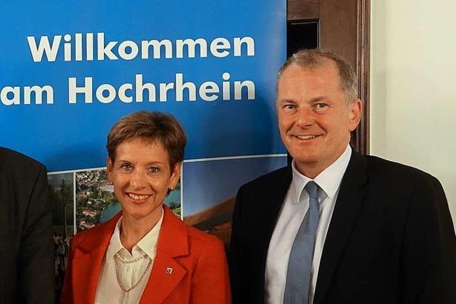 Stephan Attiger löst Marion Dammann bei der Hochrheinkommission ab