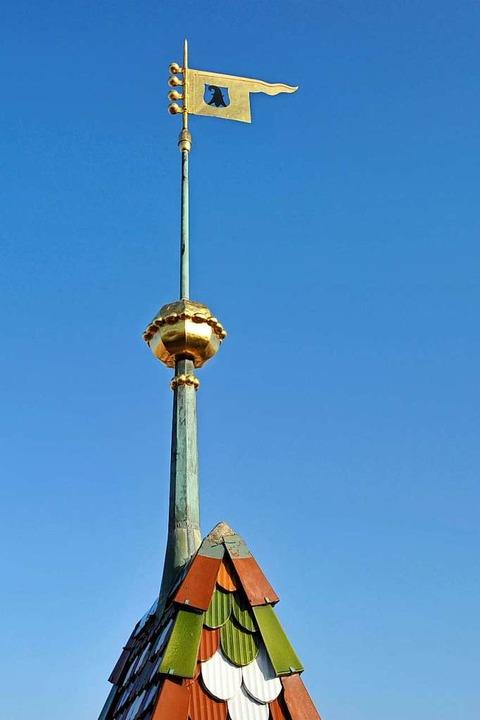 Basel hat eine neue Rathausspitze. Die...em Turm des Rathauses bleibt dieselbe.  | Foto: Kanton Basel-Stadt: www.bs.ch/bilddatenbank