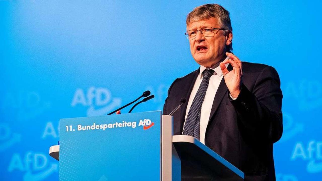 Jörg Meuthen auf dem Parteitag der AfD  | Foto: Rolf Vennenbernd (dpa)