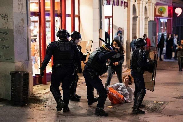Anklage gegen vier französische Polizisten nach brutalem Einsatz