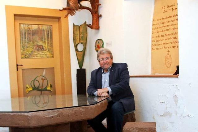 Kanderns Altbürgermeister legt sein zweites Buch vor