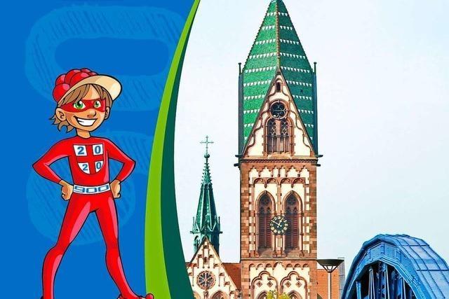 Freiburger Stadtgeschichte mit dem Superheld Bobbelino erleben