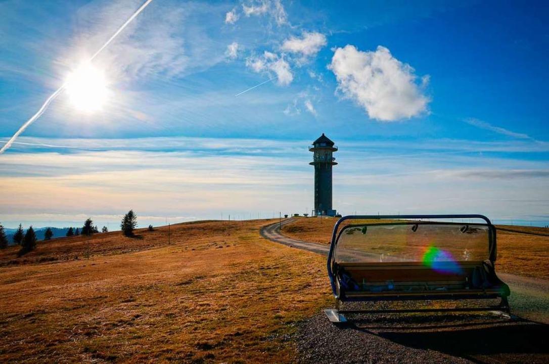 Der Feldbergturm gilt als Wahrzeichen  | Foto: Kathrin Blum